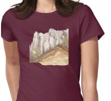 Ladies on the Rocks - do not take these women for granite Womens Fitted T-Shirt