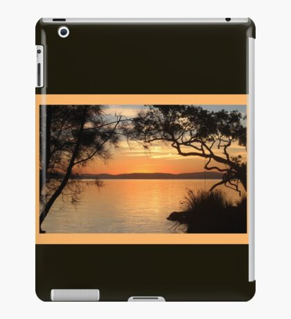 Super Sunset at Magical Myall iPad Case/Skin