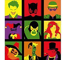 villains Photographic Print
