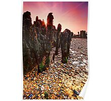 Walberswick Beach Suffolk 4. Poster