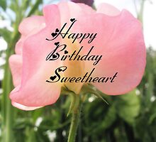 Sweet Pea happy birthday by Melissa Park