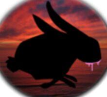 Graffiti Bunny Art Sticker