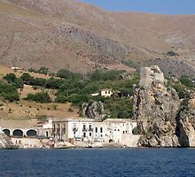 Tonnara di Scopello_view from the sea by Rosy Kueng