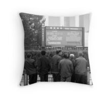 Visitors Throw Pillow