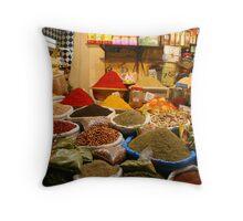 Spice Souk Throw Pillow