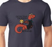 detective dragon & friend - sherlock hobbit parody Unisex T-Shirt