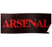 Arrows Arsenal Poster