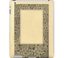 Vintage Book Page With Elder Berries iPad Case/Skin