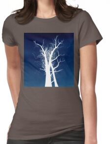 Inverted Trees Womens Fitted T-Shirt