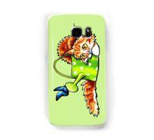 Pretty Stealthy   Maine Coon Orange Tabby Samsung Galaxy Case/Skin