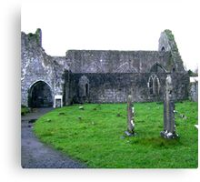 Dominican Priory in Athenry, Ireland Canvas Print