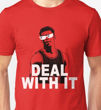 DEAL WITH IT Unisex T-Shirt