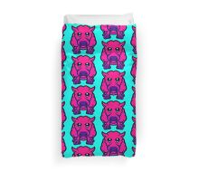 Year Of The Sheep Pink and Purple Duvet Cover