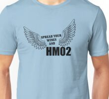Spread your wings and HM02 Unisex T-Shirt