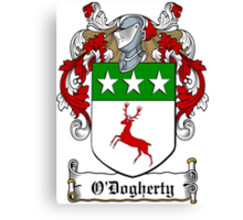 O'Dogherty (Donegal)  Canvas Print