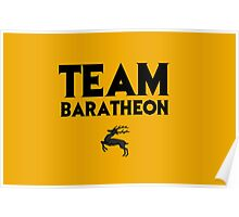 Game of Thrones - Team Baratheon, Poster