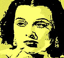 HEDY LAMARR-LAMENT by OTIS PORRITT
