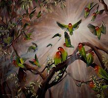 Love Birds by Nicole  Sanderson