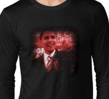 Barack Obama I Believe in America Long Sleeve T-Shirt