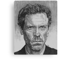 Dr. House MD Canvas Print