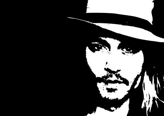 Johnny Depp by Lauren Eldridge-Murray