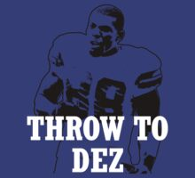 Throw To DEZ by wehavesports