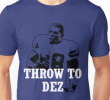 Throw To DEZ Unisex T-Shirt