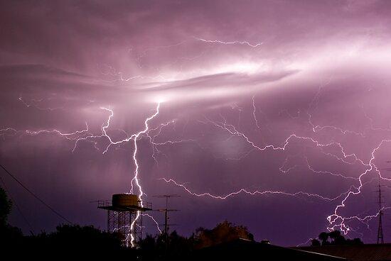 Water Tower Strike by Matt Harvey