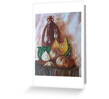 Still Life with Pumpkin Greeting Card