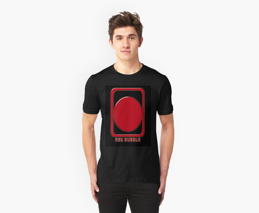 Red Bubble Chop T-Shirt by Keith Richardson