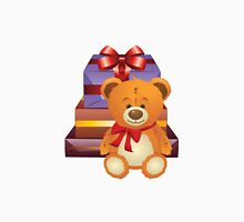 Teddy Bear with Gift Box 2 Unisex T-Shirt