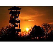 Observation Sunrise Photographic Print