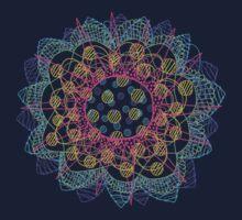 Flower Burst Mandala by bryankring