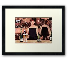 The Sports Bar Framed Print
