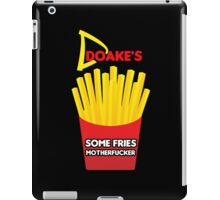 Some Fries Motherfucker - Doakes/Dexter iPad Case/Skin