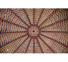 Decorated Ceiling Photographic Print