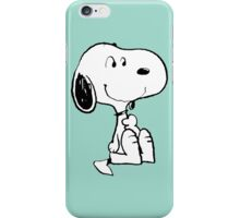 Snoopy smiling iPhone Case/Skin