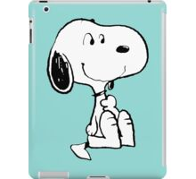 Snoopy smiling iPad Case/Skin