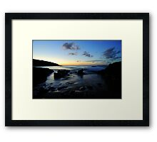 Wade .. in Fade Framed Print