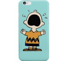 Charlie Brown crying iPhone Case/Skin