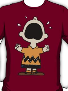 Charlie Brown crying T-Shirt