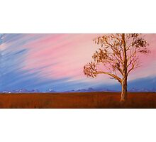 Australian outback Photographic Print