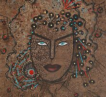 Blue Eyes Goddess by Natalie Holland