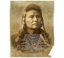 Chief Joseph of the Nez Perce Poster