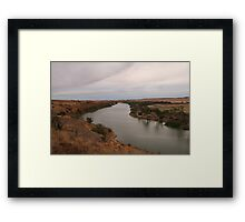 Water in the Murray Framed Print