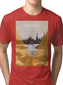Year Of Silence Tri-blend T-Shirt