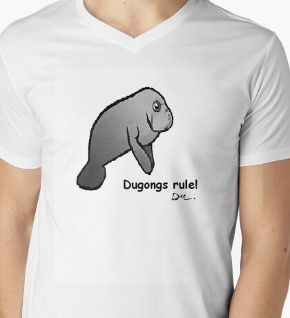 Dugons rule! Mens V-Neck T-Shirt