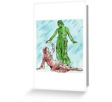 The Beauty of Ballet Greeting Card