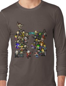 Epic 8 bit Battle! Long Sleeve T-Shirt