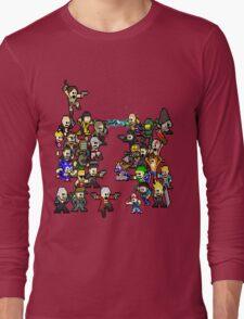 Epic 8 bit Battle! Long Sleeve T-Shirt